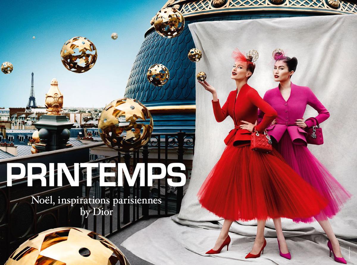 dior printemps christmas 2012 campaign