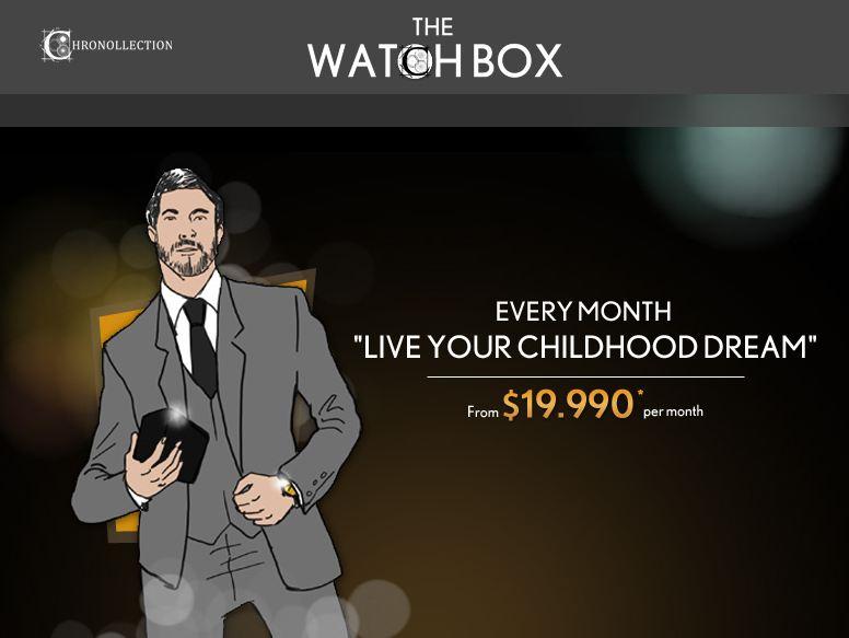 watchbox Chronollection