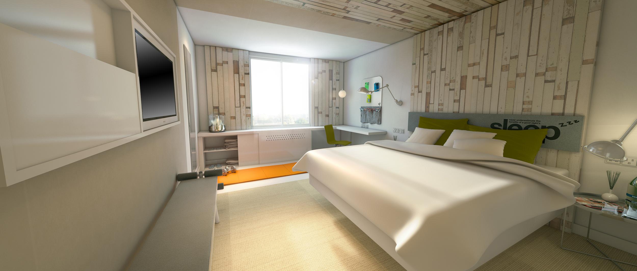 EVEN Hotels bedroom