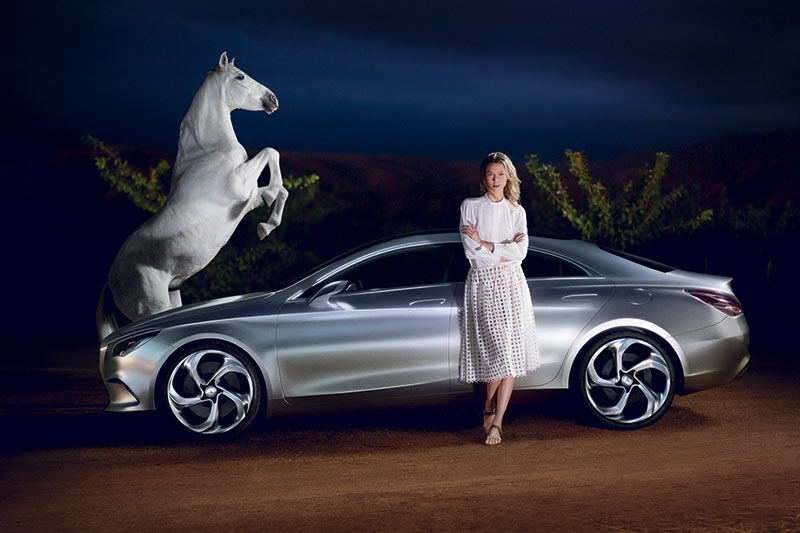 Karlie Kloss for Mercedes-Benz