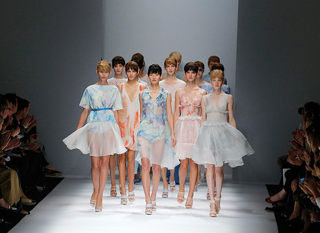 Cacharel Spring Summer 2013 fashion show
