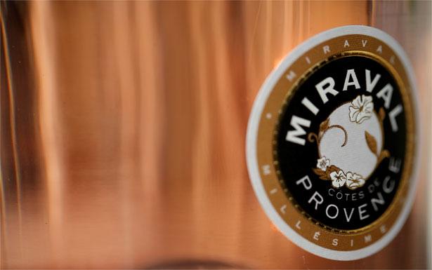 Miraval rose wine