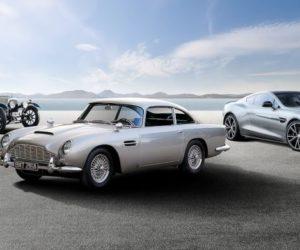 Aston Martin Centenary Tour