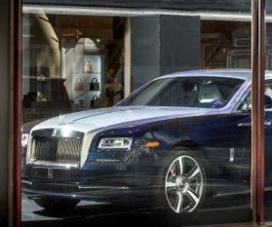Rolls Royce Wraith Harrods
