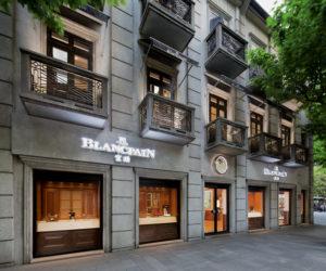 Blancpain flagship store Shanghai