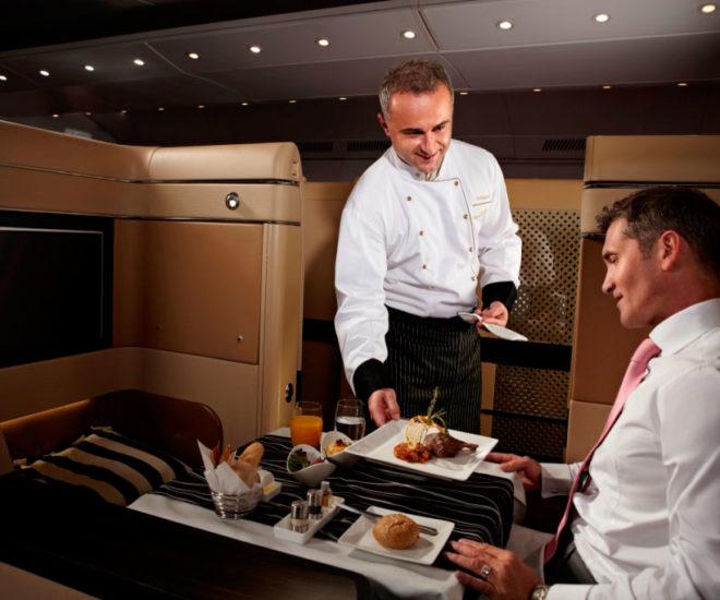 Etihad Airway First Class Chef