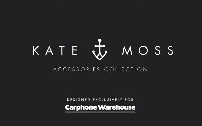 Kate Moss Carphone Warehouse collection