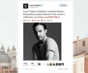 Louis Vuitton Twitter