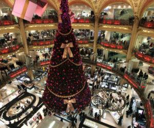 Galerie Lafayette Paris Christmas