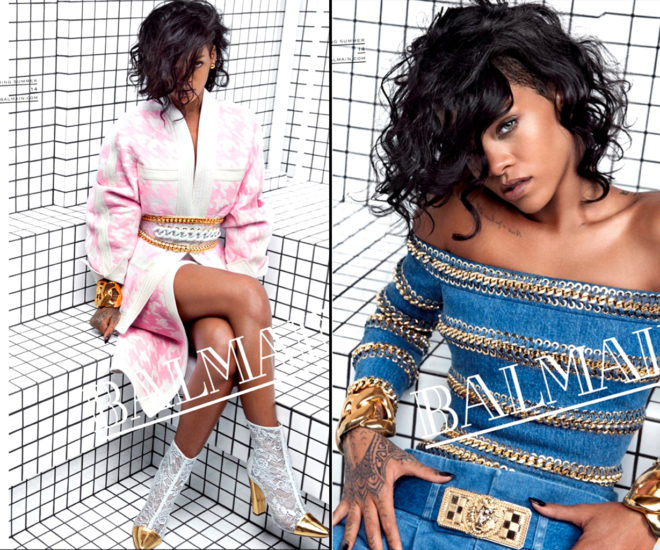 Rihanna For Balmain