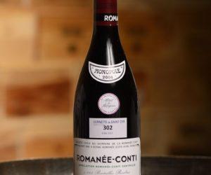 Romanee Conti 2004 bottle