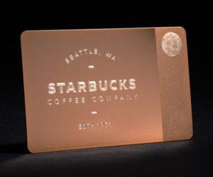 Starbucks premium holiday card