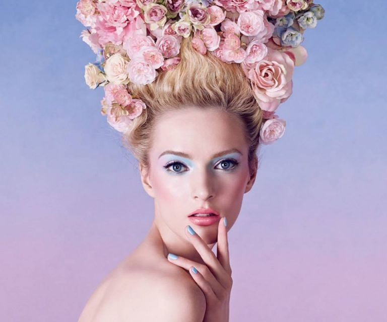 Dior Spring 2014 makeup