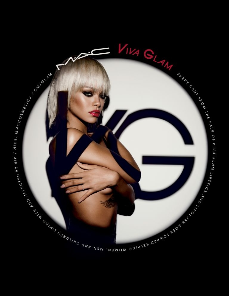 MAC Viva Glam campaign