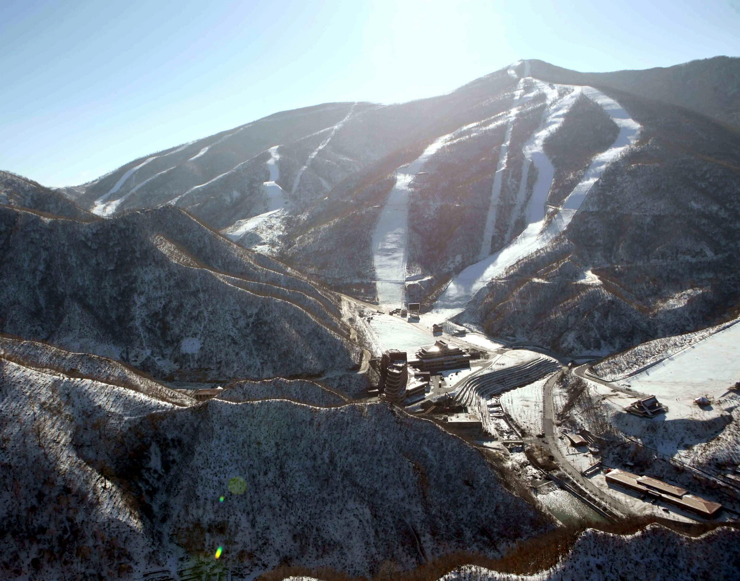Masif Pass ski resort