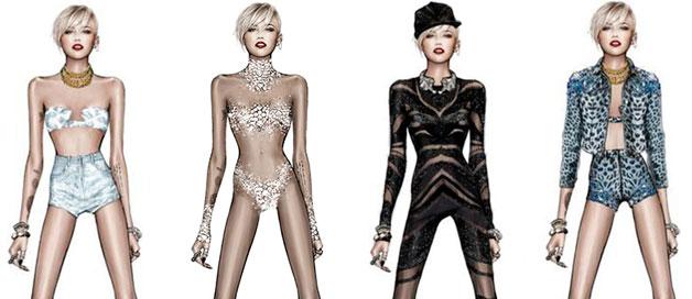 Miley Cyrus stagewear