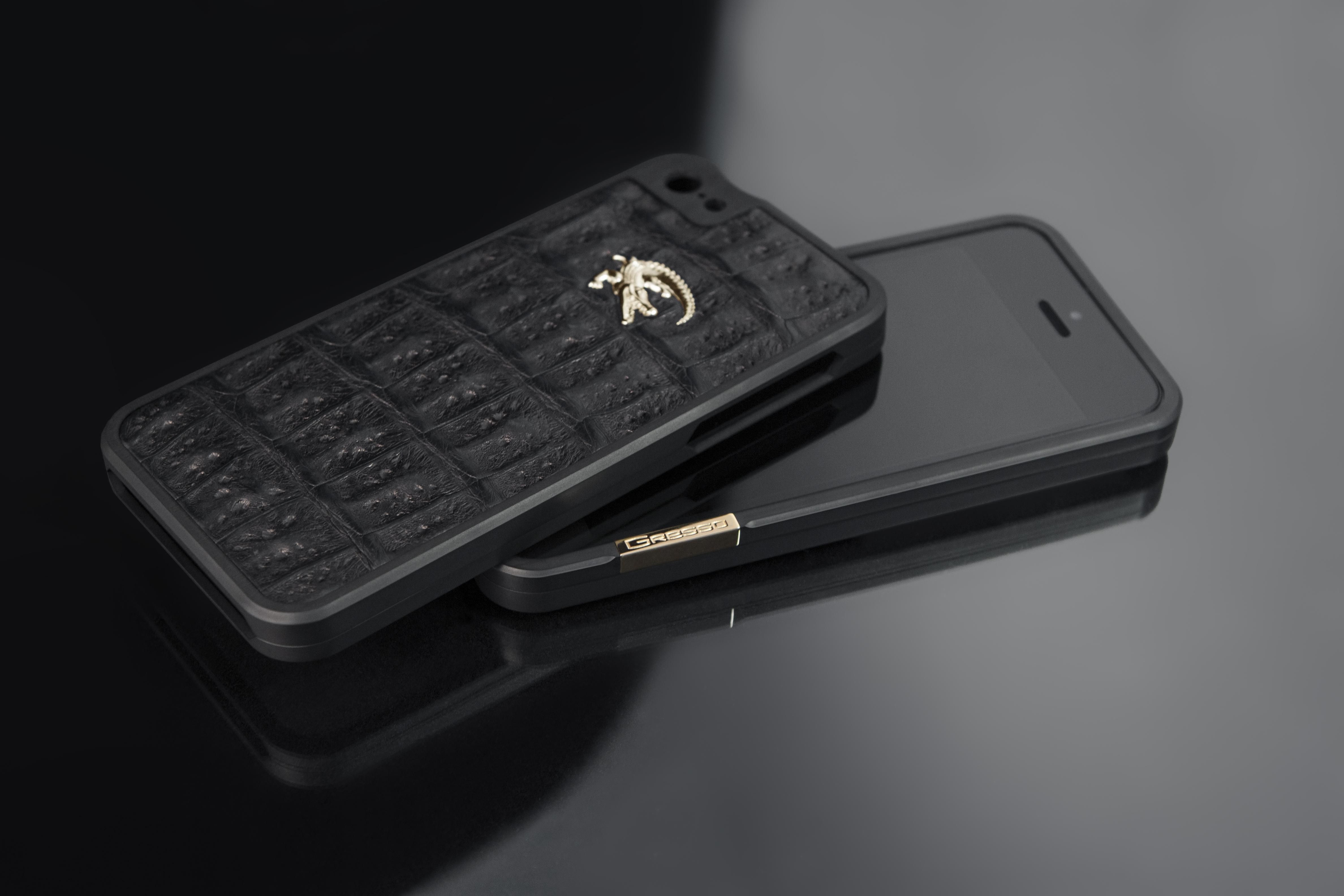 Gresso Titanium Bumper iPhone case