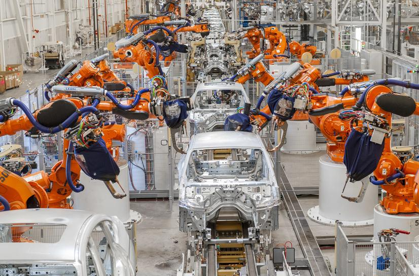 BMW vehicles in production