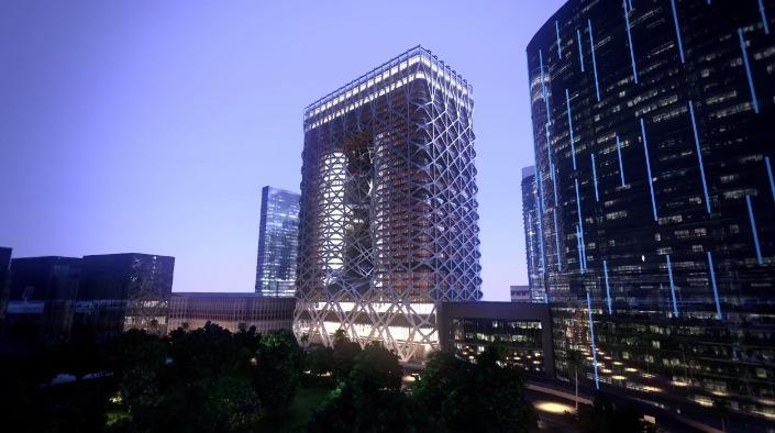 City of Dreams Hotel Tower by Zaha Hadid