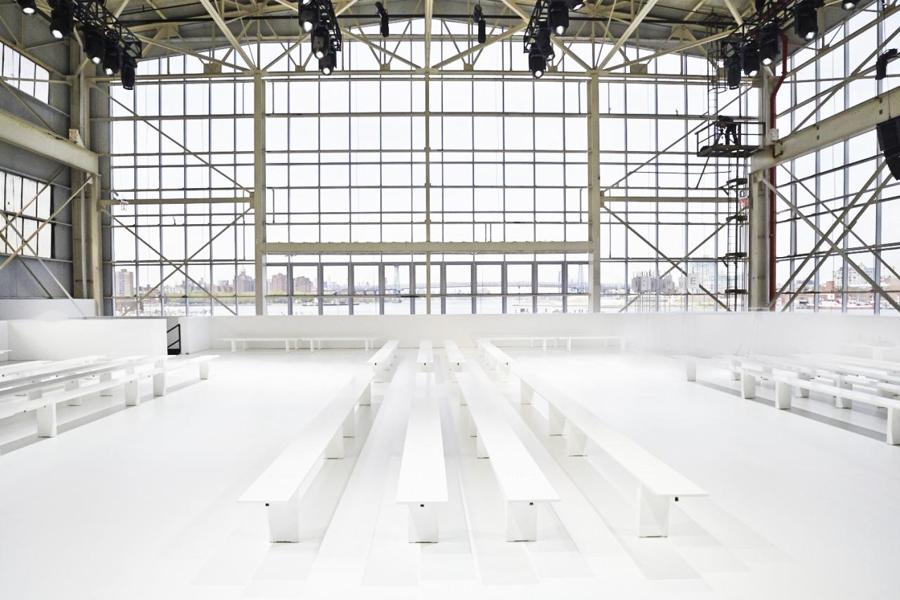 Dior Curise 2015 show brooklyn