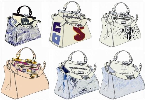Fendi Peekaboo Bag Charity Auction