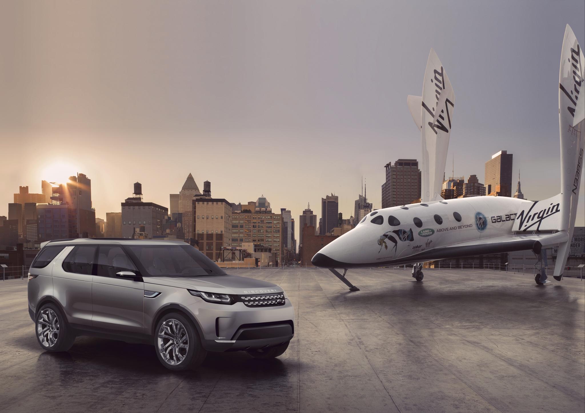Land Rover enters Virgin Galactic partnership