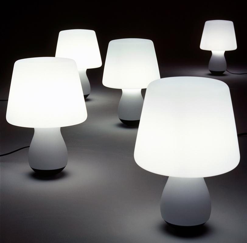 Mushroom Lamp by Nick Rennie for Ligne Roset