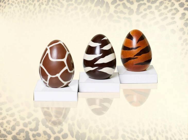 Roberto Cavalli chocolate Easter eggs