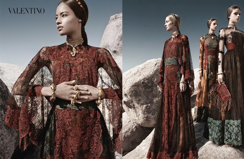 Valentino Spring Summer 2014 Campaign