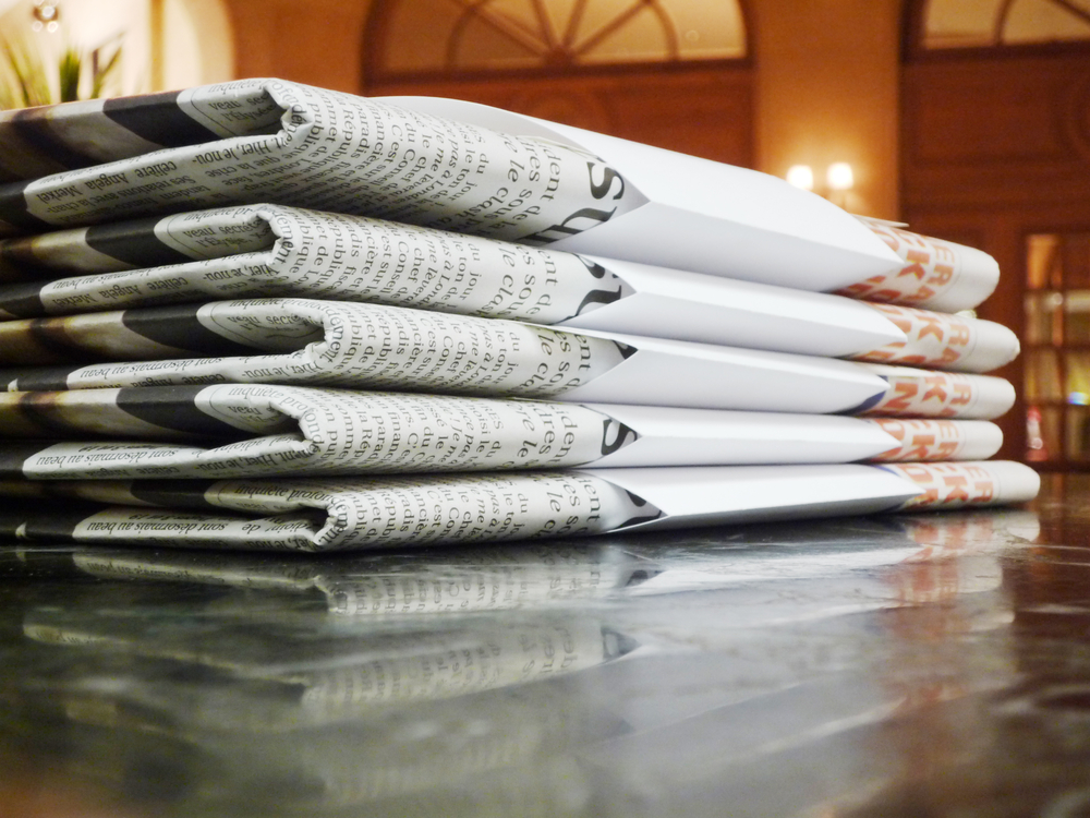 hotel newspapers