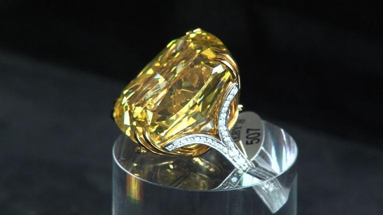 huge yellow diamond