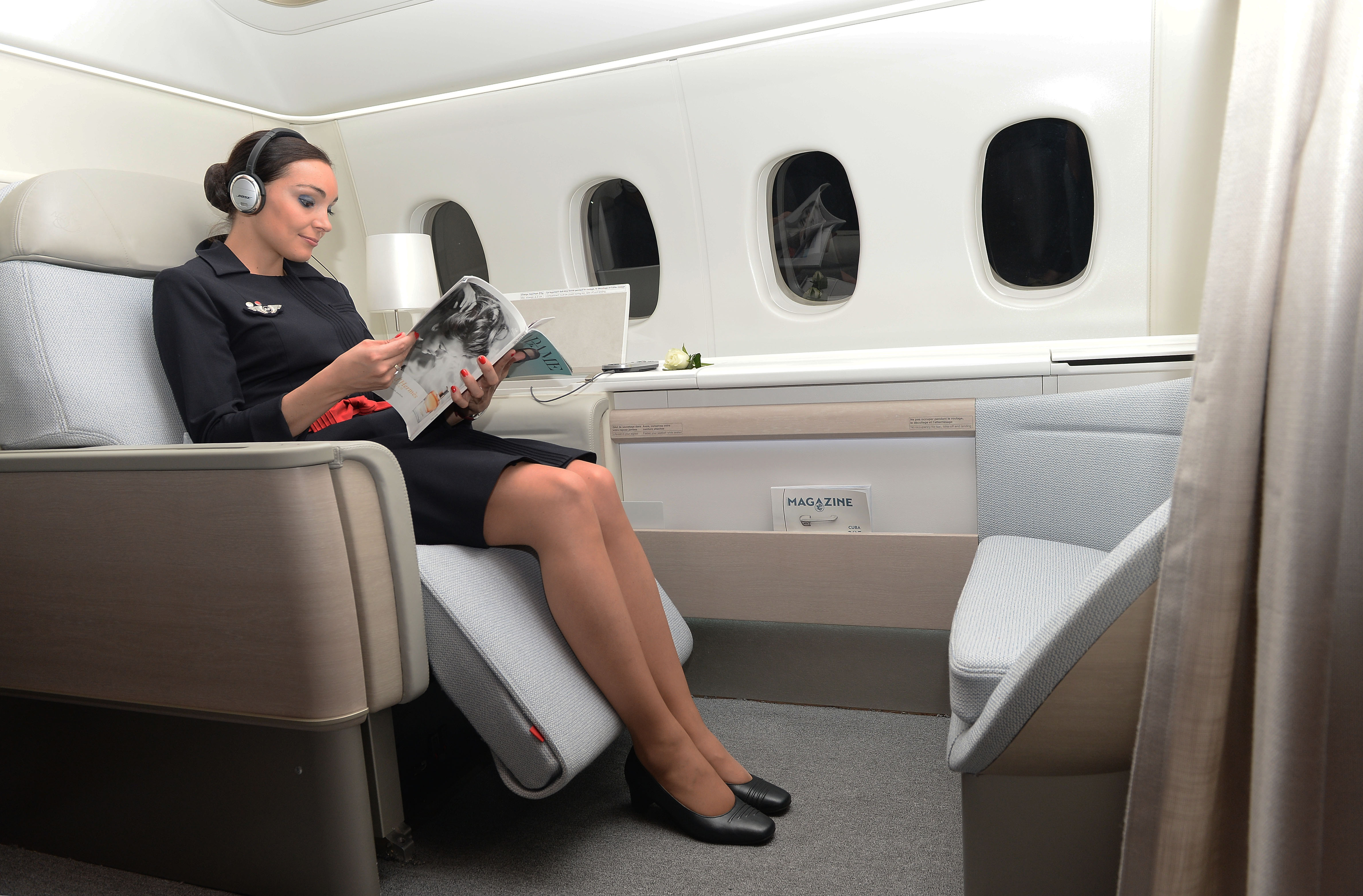 Air France luxury first class seat 2014