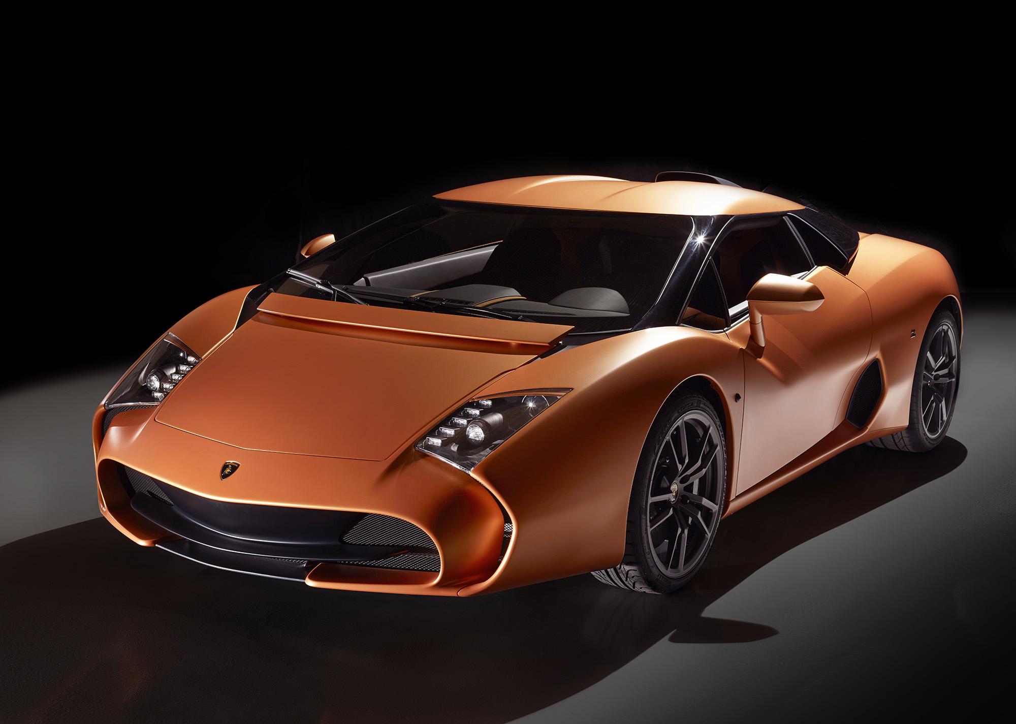 Lamborghini 5-95 Zagato back