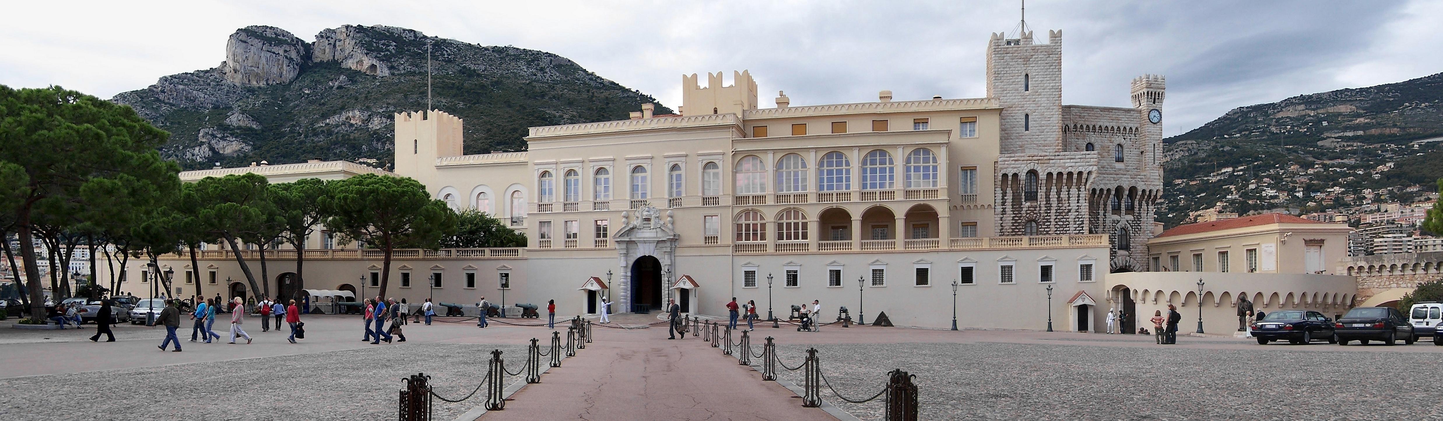 Monaco Prince Palace panorama