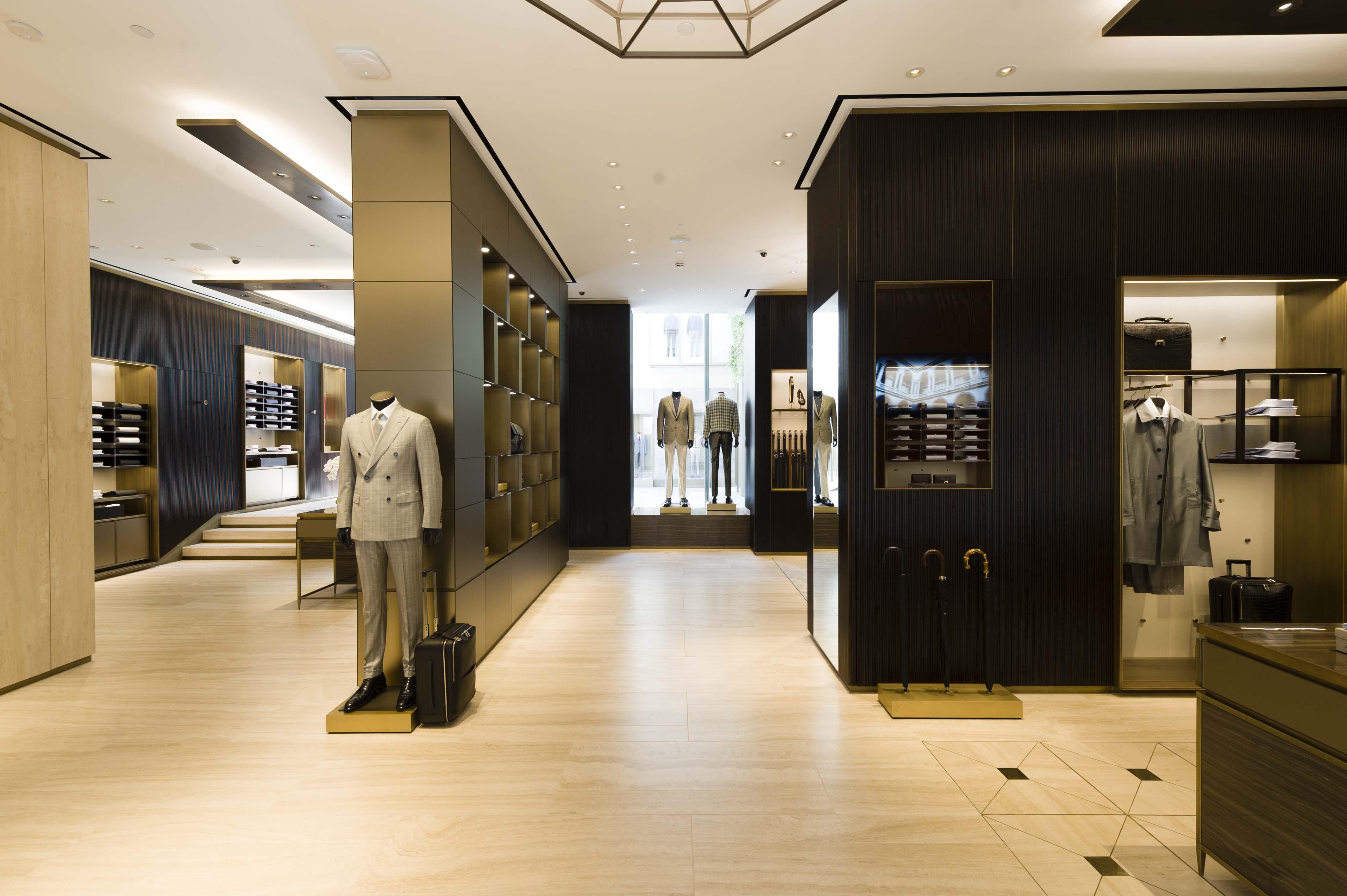 Brioni Milan Flagship Store