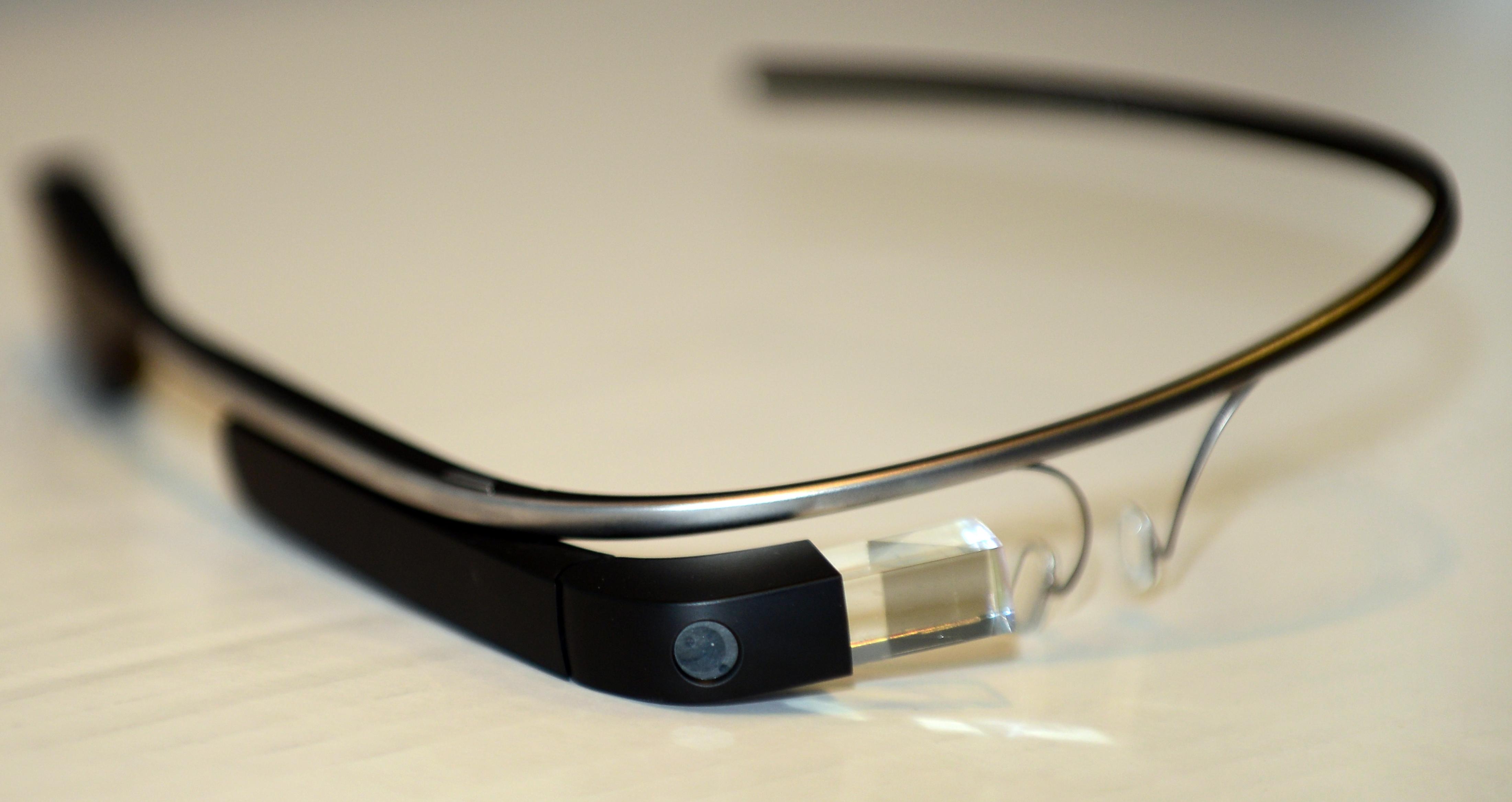 Google Glass photo