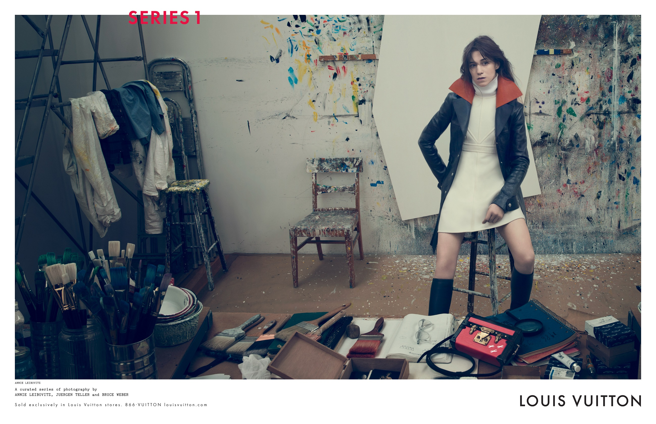 Louis Vuitton Fall Winter 2014 Campaign