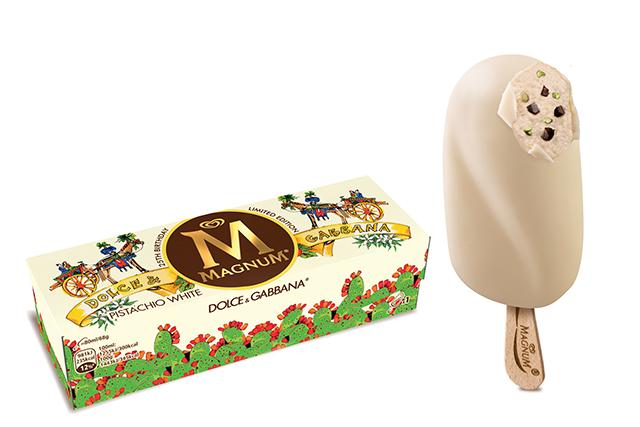 Magnum Dolce & Gabbana ice cream