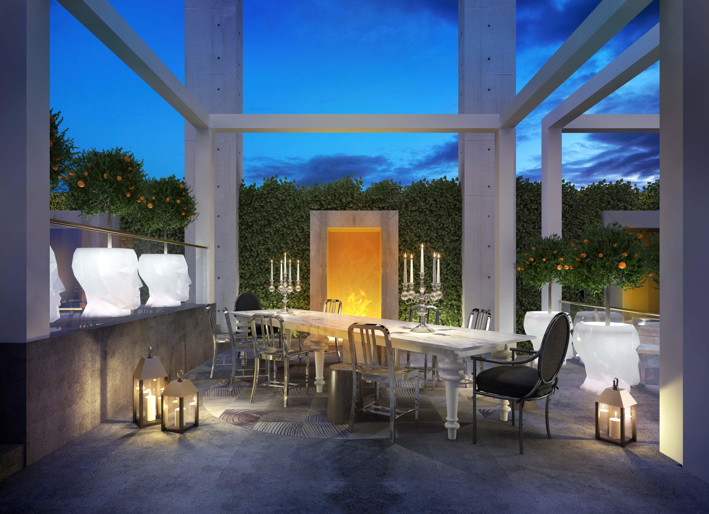 Yoo Montreal terrace