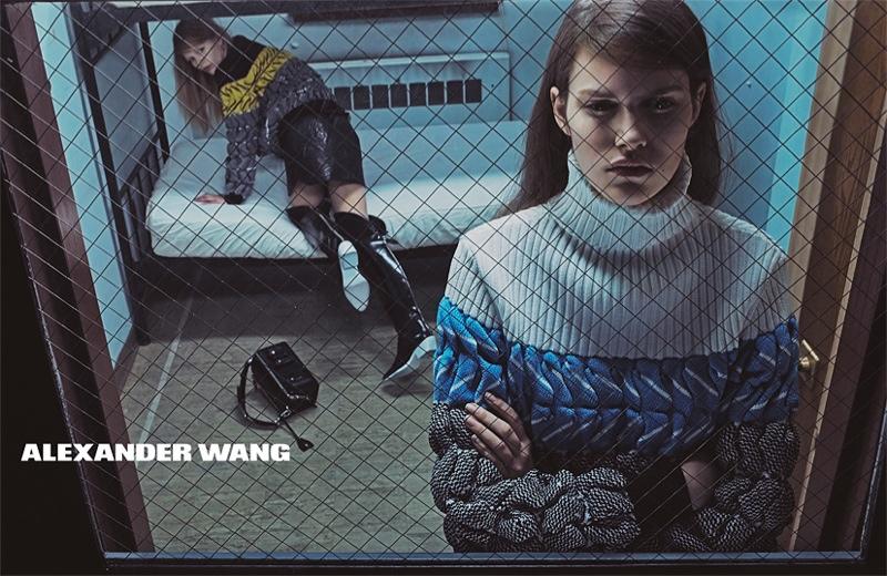 Alexander Wang Fall 2014 campaign