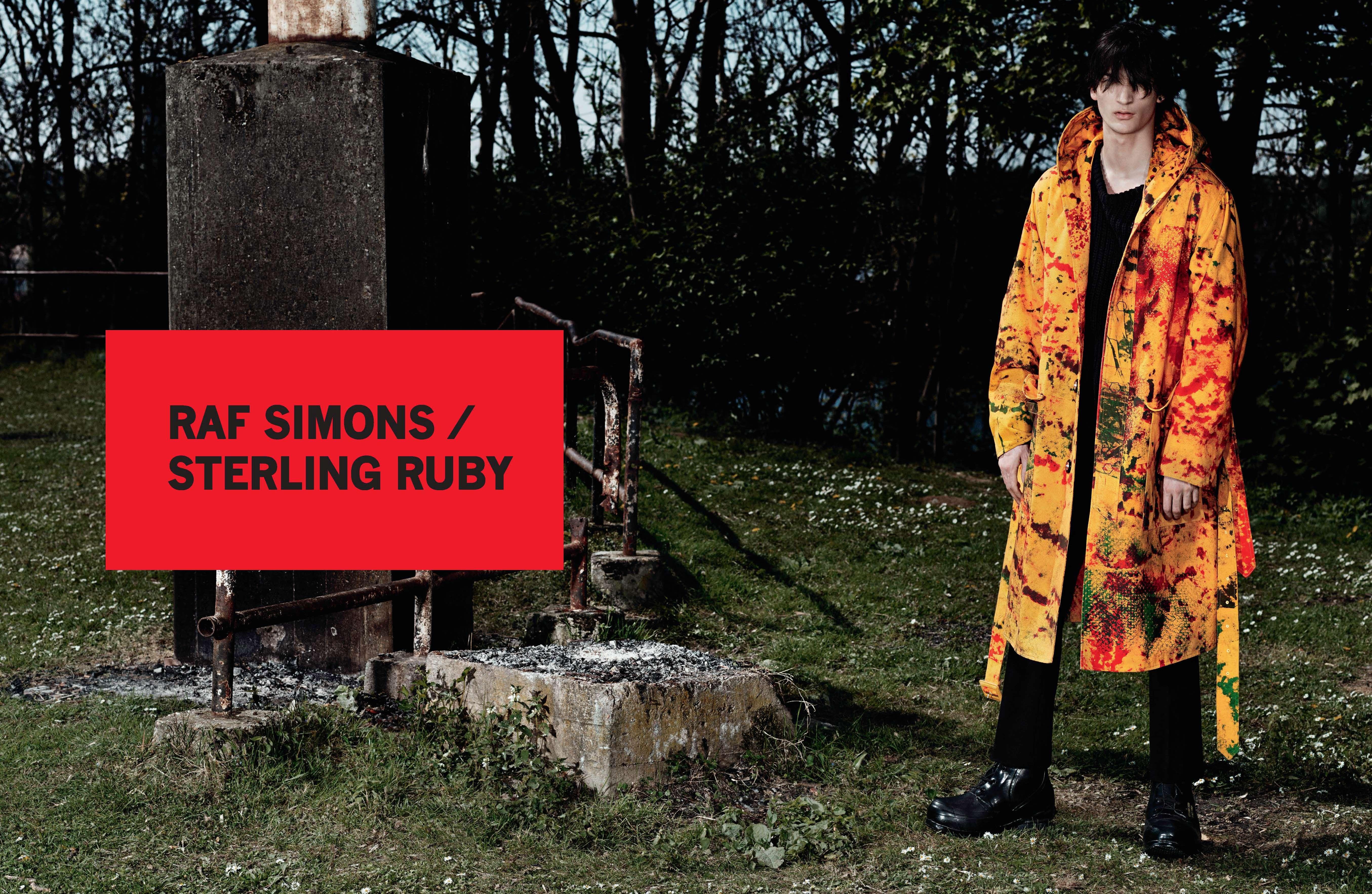 Raf Simons Sterling Ruby Fall 2014