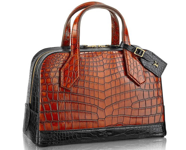 louis vuitton crocodile lady bag