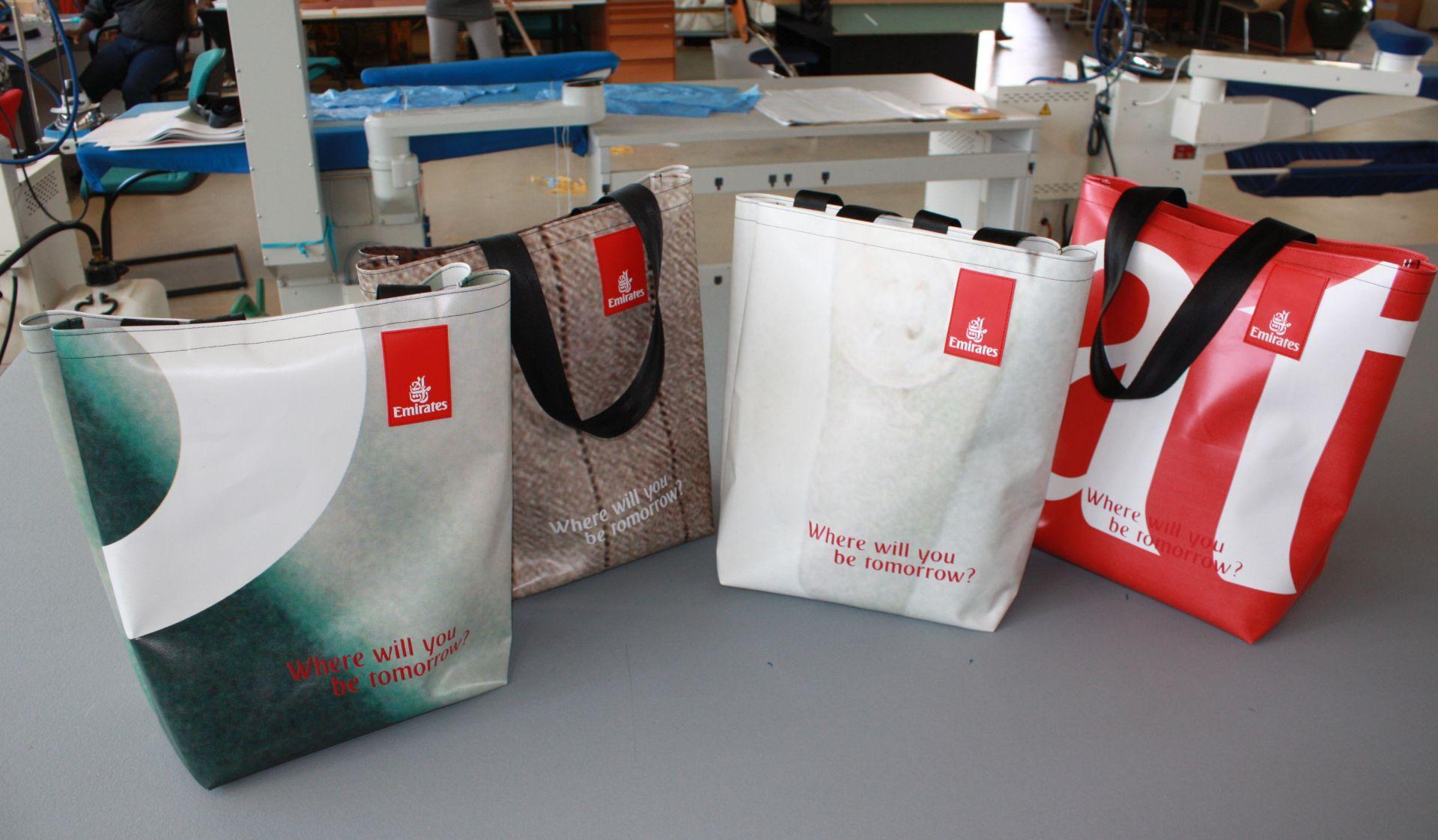 Emirates shopping bags