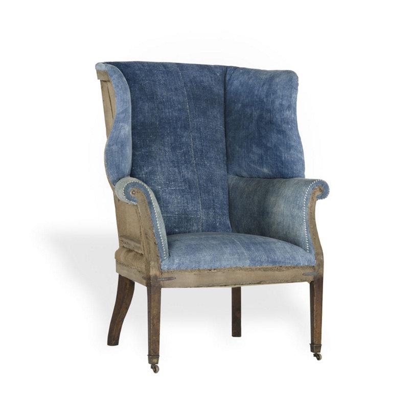 Hepplewhite Wing Chair by Ralph Lauren