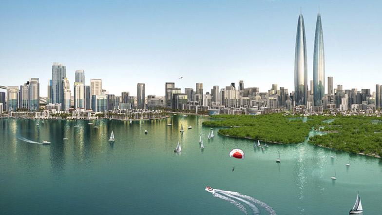 Dubai twin towers