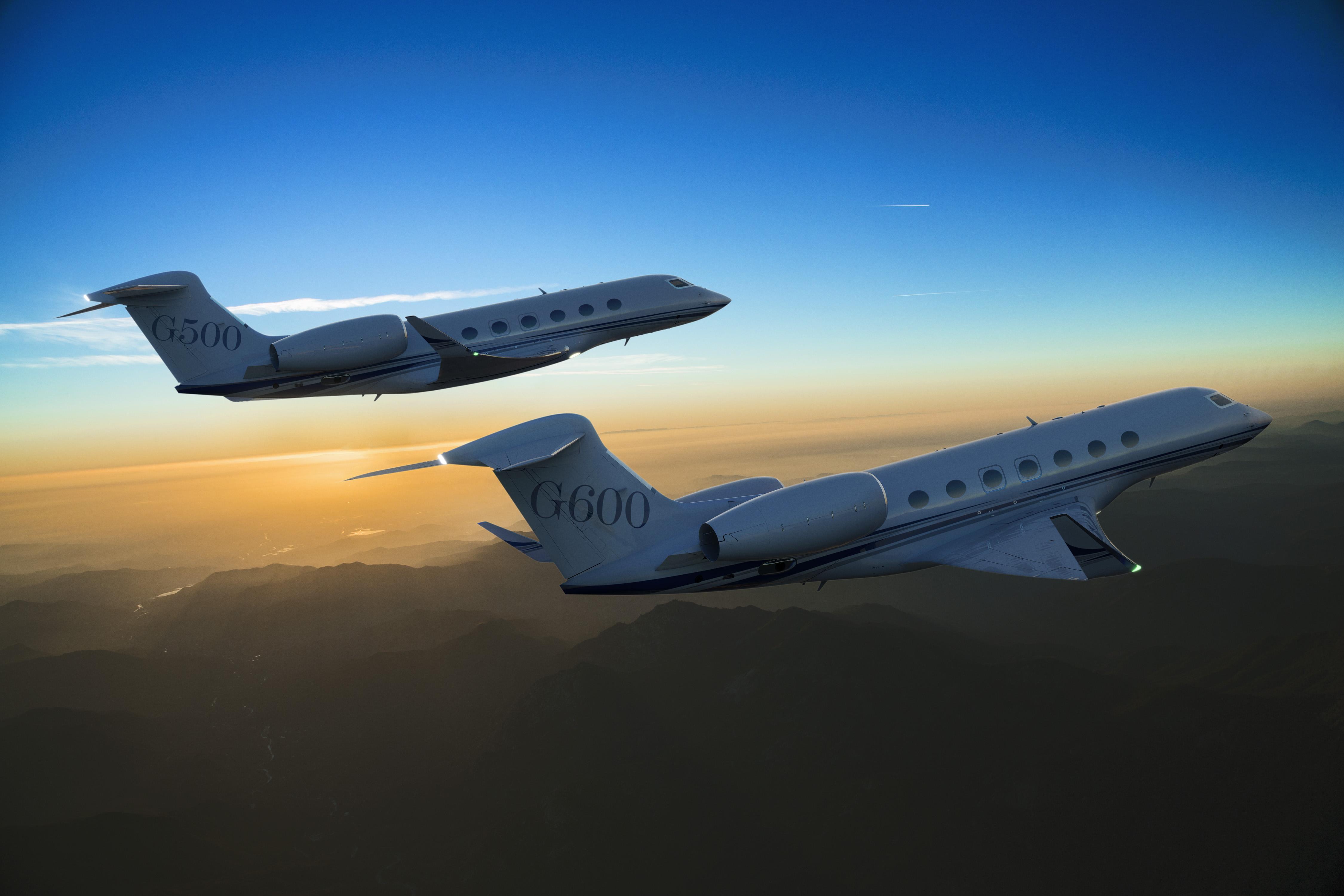 The Gulfstream G500 and G600