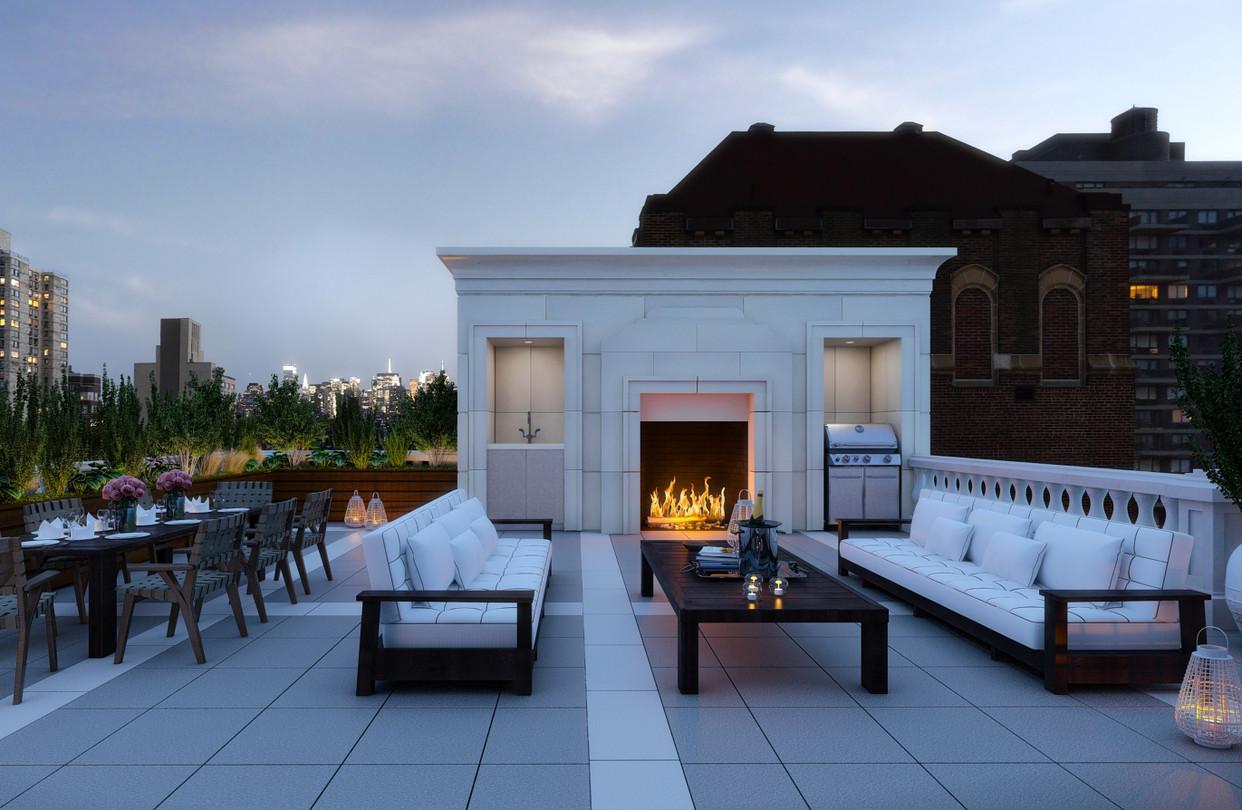 Manhattan Penthouse Rooftop