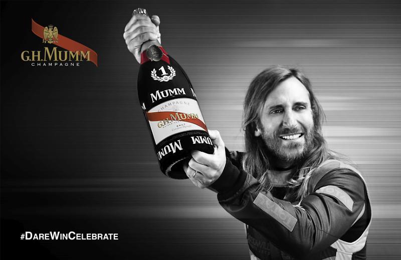 MUMM Announces Partnership With David Guetta