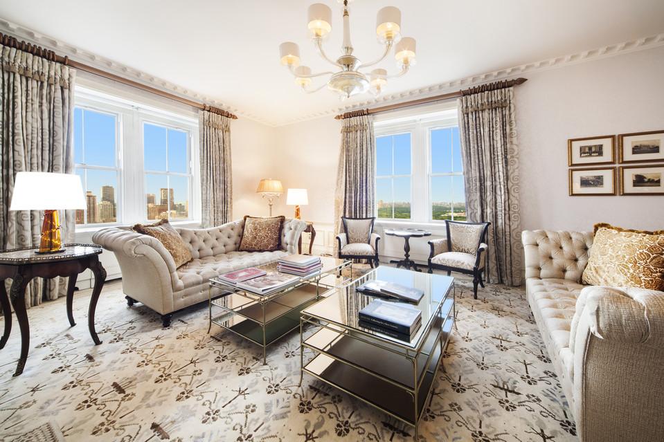 Pierre Hotel Presidential suite