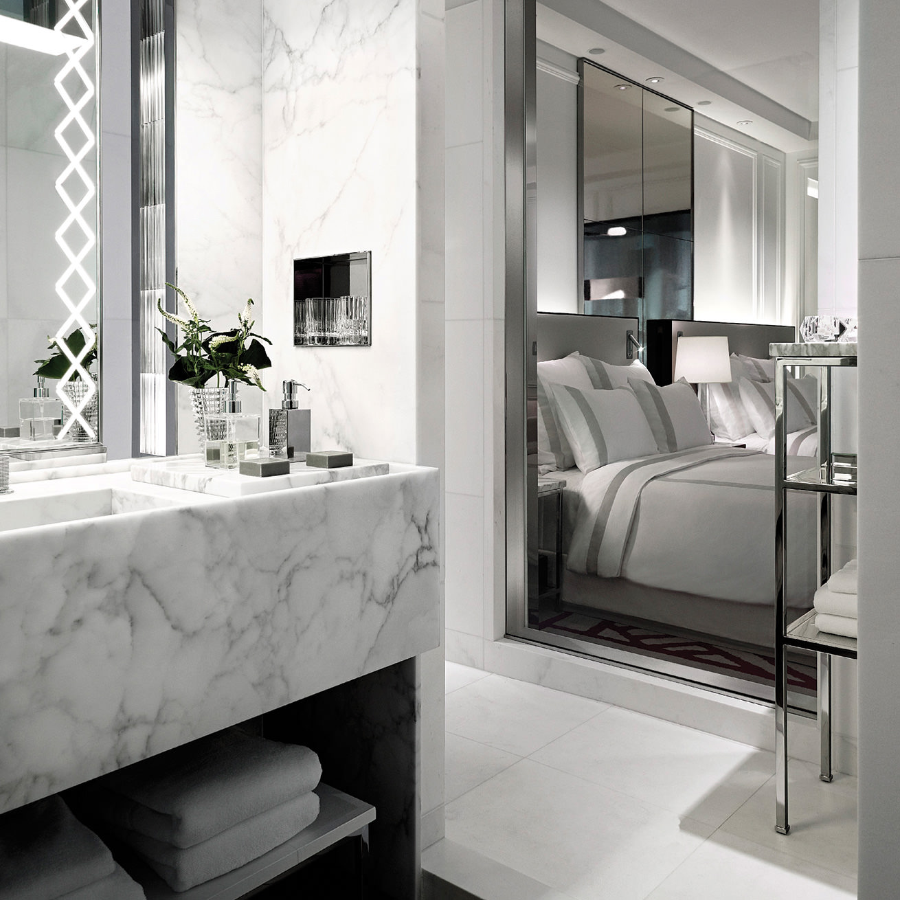 baccarat hotel NYC room